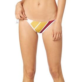 Fox Momentum Side Tie Bikini Damer, rød/farverig
